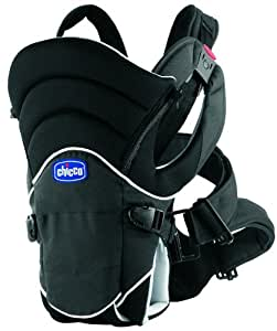 Chicco You and Me Physio Comfort - Mochila para bebé, color negro