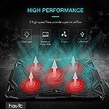 havit 5 Fans Laptop Cooling Pad for 14-17 Inch