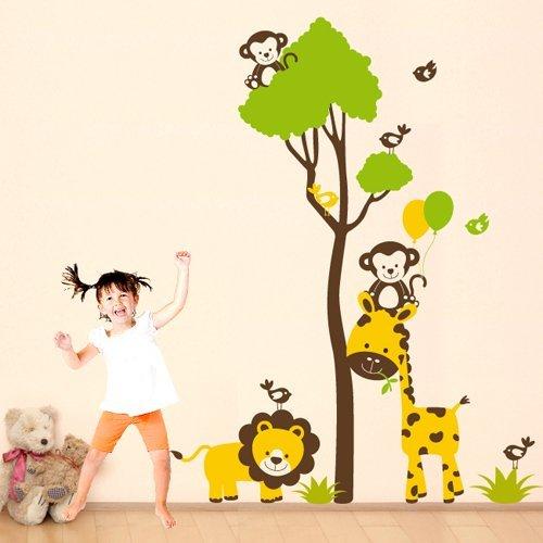 Adesivi murali per bambini amazon colori per dipingere for Disegnare cameretta online