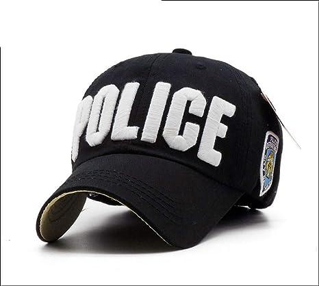 caomingxuan Gorra De Beisbol Gorra De Béisbol De La Policía De ...