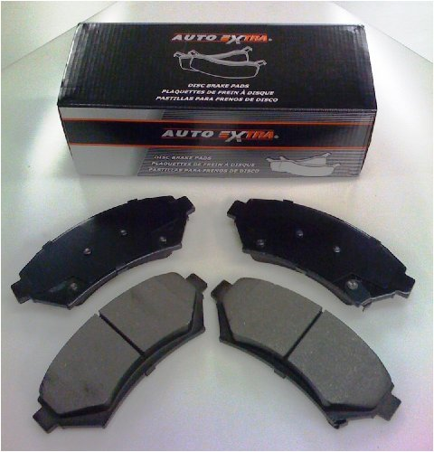 4. Auto Extra Friction AXMD785 Semi-Metallic Brake Pad