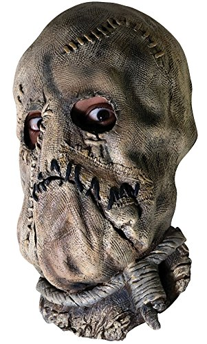 Halloween Mask- Batman Dark Knight -Scarecrow Adult Costume Mask -Scary (The Scarecrow Costumes Batman)