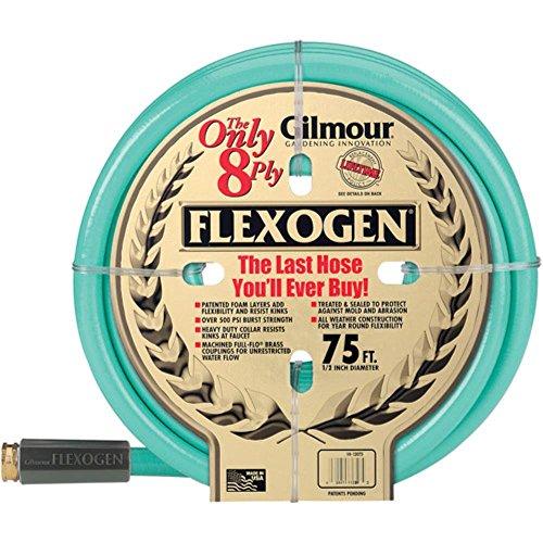 Gilmour 10-12075 1/2 in X 75' 8 Ply Flexogen Garden Hose