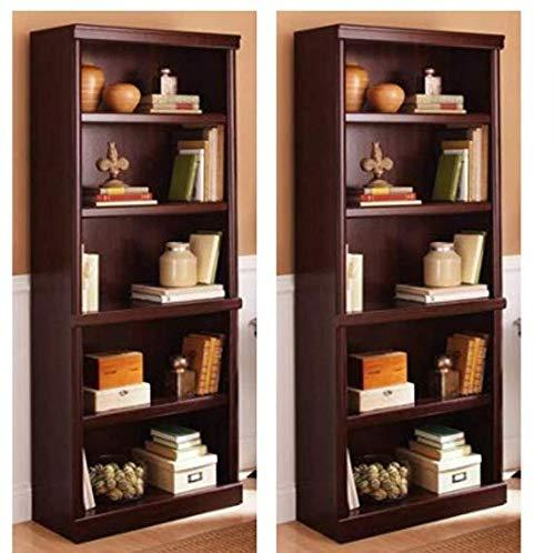 Better Homes and Gardens Ashwood Road 5-Shelf Bookcase Black, Set of 1 Better Homes & Gardens