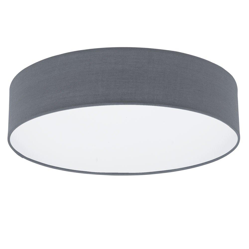 Decken Lampe Wohn Ess Zimmer Fernbedienung Textil Strahler dimmbar im Set inkl. RGB LED Leuchtmittel