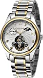 BINKADA For Mans Automatic Mechanical Moon Phase White Dial Men's Watch #800201-3