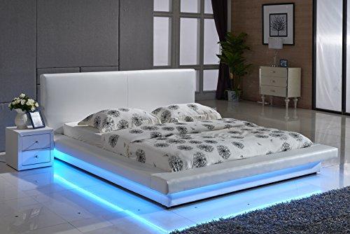 Contenedor muebles Direct Faux moderno tapizado plataforma cama con ...