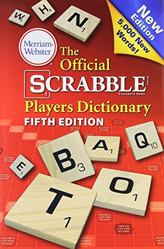The Official Scrabble Players Dictionary, Fifth Edition by Merriam-Webster (6-Aug-2014) Hardcover (Scrabble Official)