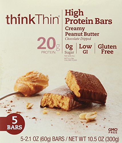 (thinkThin Bar Creamy Peanut Butter, 10.5)