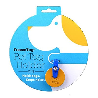 FreezeTag Dog Tag Silencer and Connector from FreezeTag