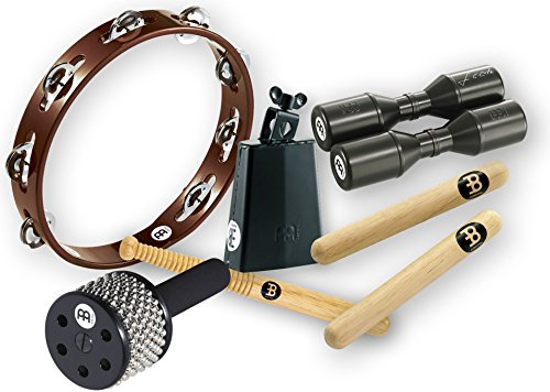 Meinl Percussion ES-PERC-PACK Essential Perc Pack with Free Shaker for Cajon, Djembe, Bongos and Congas