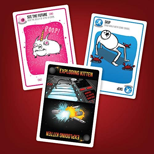Exploding Kittens Card Game  FamilyFriendly Party Games  Card Games For Adults Teens  Kids