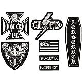 Black Label Society Patch Set Front Patch Set Black