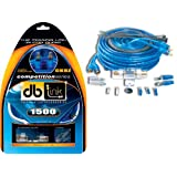 db Link CK8Z 8 Gauge Competition Series 17-Feet Amplifier Installation Kit (Blue)