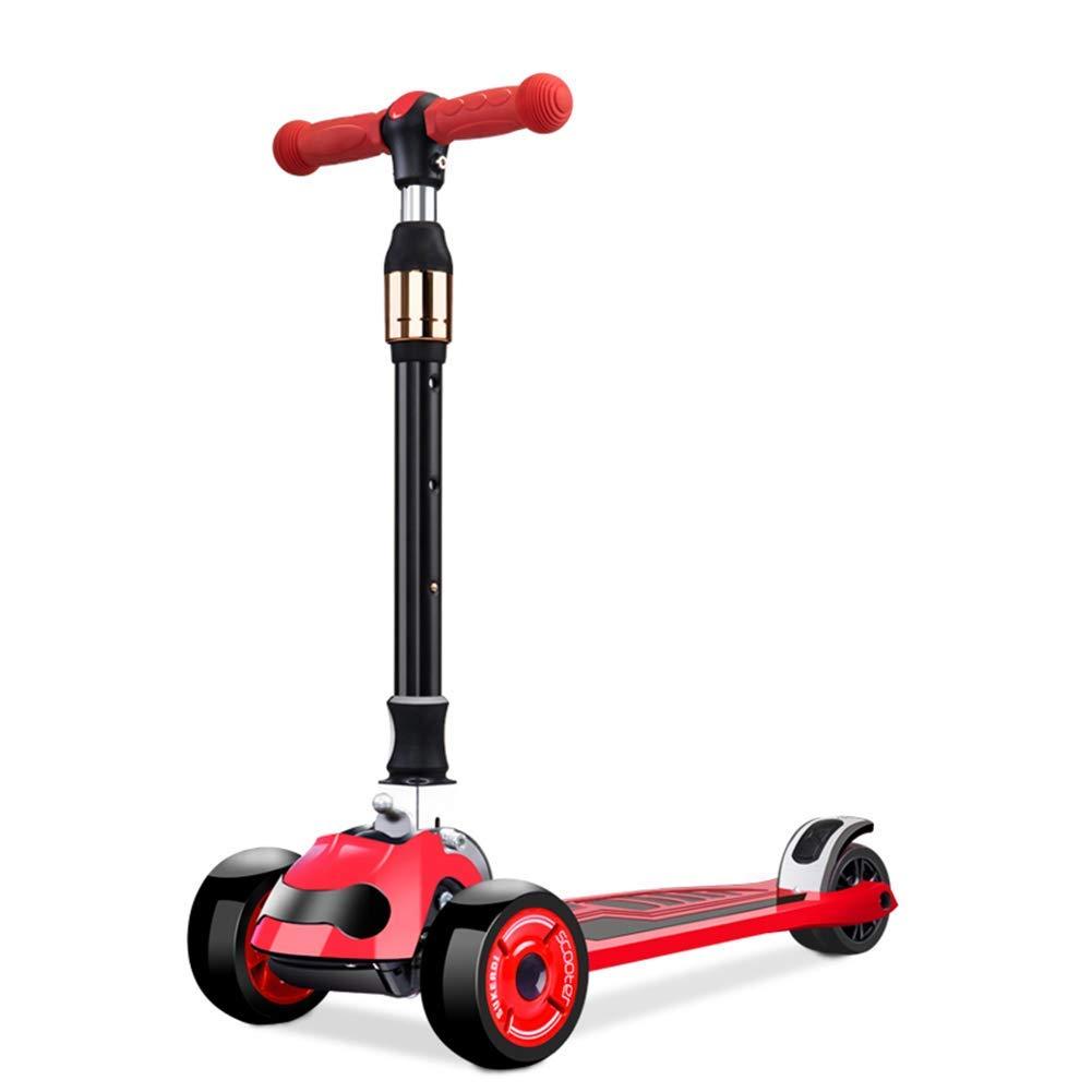 CMXIA Scooter per Bambini è Adatto per 3 Anni e 6 Anni Scooter a 3 Ruote per Bambini con più Colorei tra Cui Scegliere, c'è Sempre Un Bambino piacerà. ( Colore   rosso )