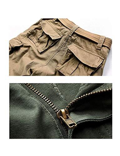 Abbigliamento Tempo Corti Cargo Festivo Pantaloncini Estivi Lannister Tinta Il Tarnung Per Con Pantaloni Da Unita Libero Licht Uomo Vintage HgxxYvp