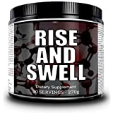 Liquid Labs Rise and Swell Natural Testosterone Booster & Post Cycle Therapy Libido Formula To Increase Pumps - 30 Day Supply