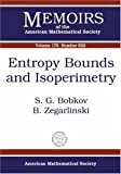 Entropy Bounds and Isoperimetry, S. G. Bobkov and B. Zegarlinski, 082183858X