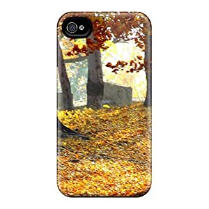 linJUN FENGDefender Case With Nice Appearance (forest) For Iphone 4/4s