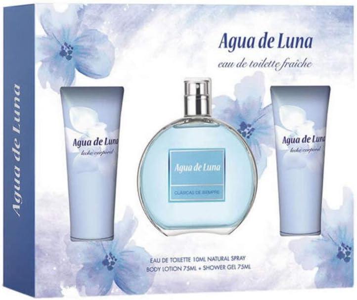 Puig 8411061906415 - Estuche Agua de Luna 3 Piezas: Amazon.es: Belleza