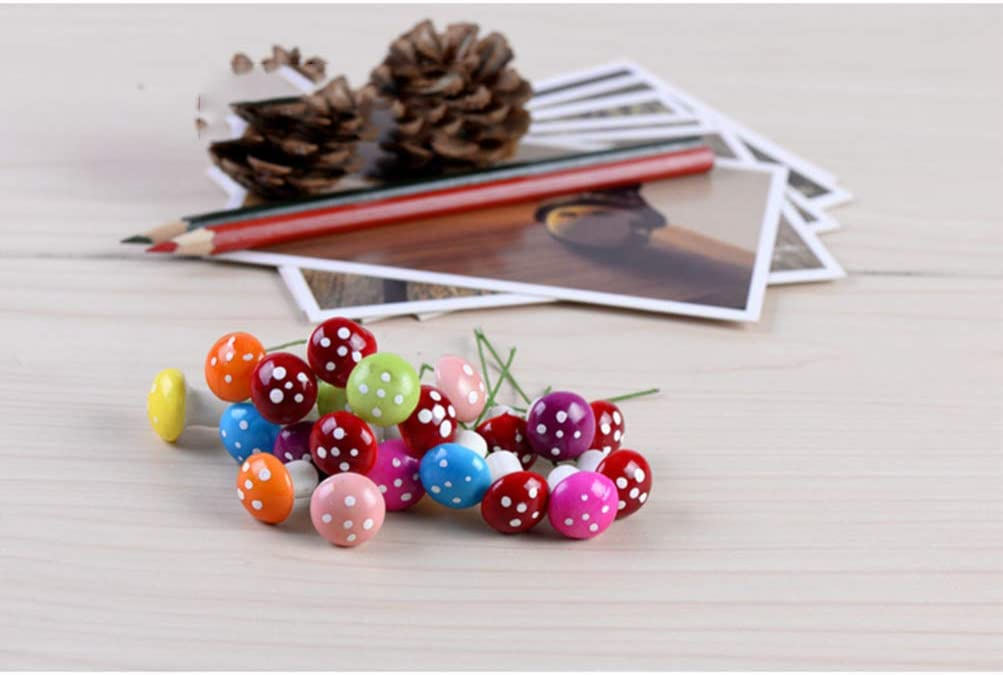 Mini Funghi Artificiali da Giardino in Miniatura per Bonsai Decorazione per la casa Mixed Colors Micro Paesaggio Rosso in Resina HEALLILY Salily Fai da Te