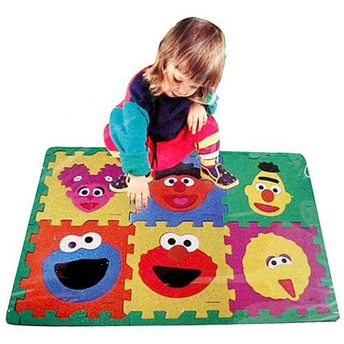Sesame Street Make A Face Floor Puzzle