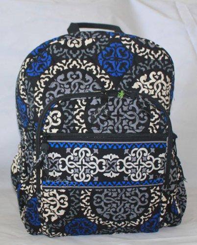 Vera Bradley Campus Backpack Canterberry Cobalt by Vera Bradley