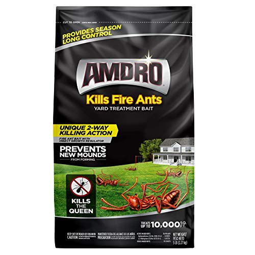 Amdro 100511025 Fire Ant Yard Treatment Bait, 5 ()