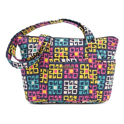 Bella Taylor Handbags-Zealand Blue Mini Shopper