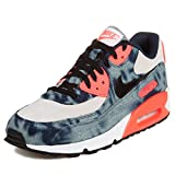 Nike Men's Air Max 90 DNM QS, MIDNIGHT NAVY/BLACK-WHITE-INFRARED, 10.5 M US