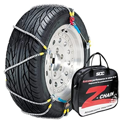 Image of Security Chain Company Z-579 Z-Chain Extreme Performance Cable Tire Traction Chain - Set of 2 Car