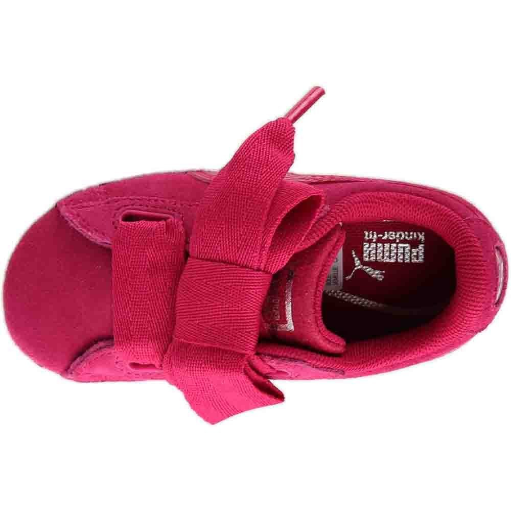 PUMA Unisex-Kids Suede Heart SNK,Love Potion/Love Potion,7 M US Toddler by PUMA (Image #6)