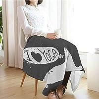 Amazon.com: Yoga Custom Sofa Bed Throw Blanket,Cute Polar ...