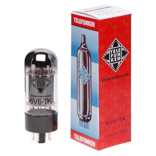 TELEFUNKEN Elektroakustik 6V6-TK   Black Diamond Series 6Pin Pentode Amplifier Vacuum Tube