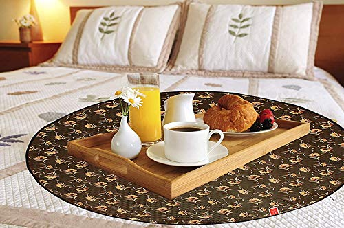 CASA-NEST KANUSHI Comfort House Bed Server/Food Mat/Bedsheet Protector/Reversible in 3 Layered Heavy Material Price & Reviews
