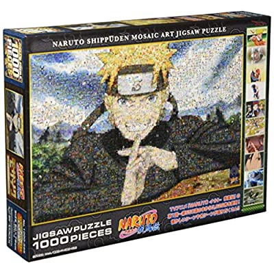 Naruto Naruto Shippuden 1000 Piece Naruto-naruto - Shippuden Mosaic Art 1000-395: Toys & Games