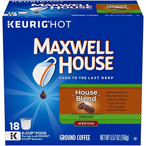 Maxwell House Decaf Medium Roast Keurig K Cup Coffee Pods (18 ()