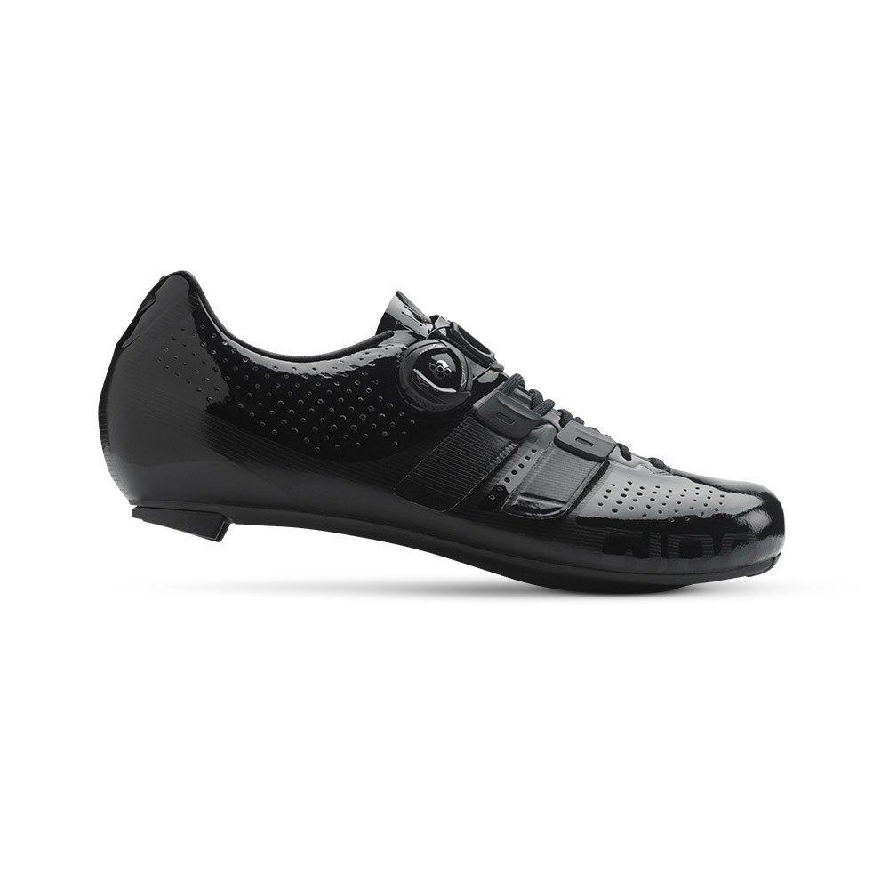 Giro Factor Techlace Road Cycling Shoes Black 45 by Giro (Image #3)