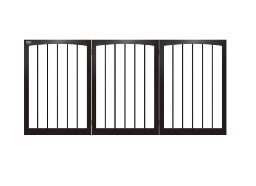 Amazon.com: Animal Planet Free Standing Wooden Pet Gate: Baby