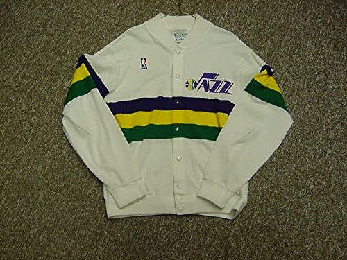 (Adrian Dantley Utah Jazz 1985-1990 Home White Game Worn Jersey )