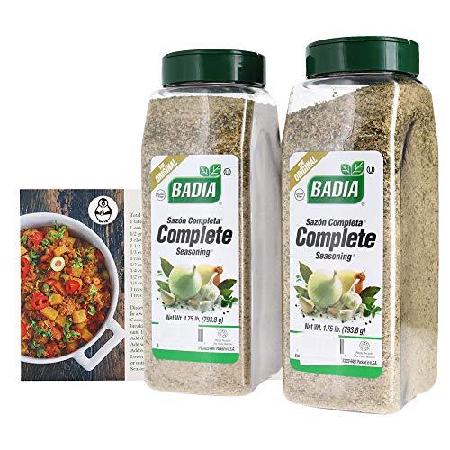 Badia Complete Seasoning Bundle (2 Pack) W/ Recipe Card ()