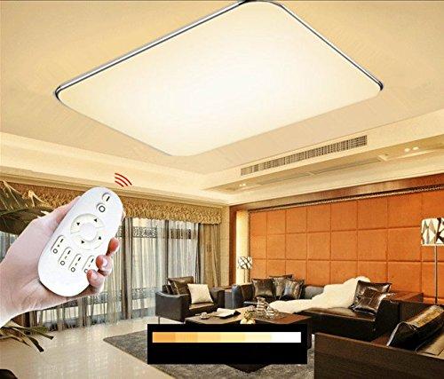 SAILUN 96W LED Dimmbar Deckenleuchte Ultraslim Modern Deckenlampe Flur Wohnzimmer Lampe Schlafzimmer Kuche Energie Sparen Licht