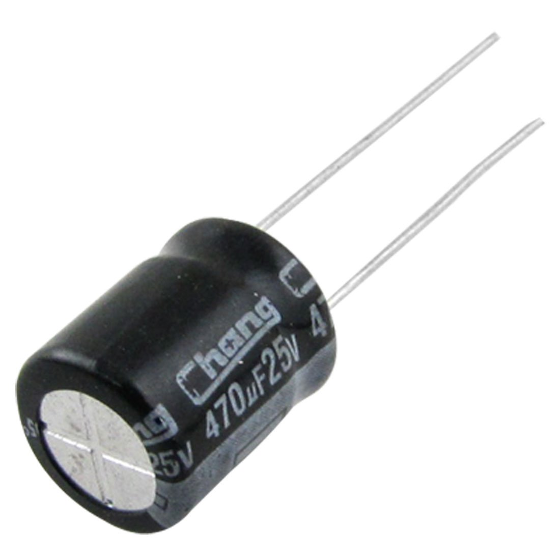 Uxcell a11091900ux0021 10mmx13 mm 470uF 25V Aluminum Electrolytic Capacitors 50 Piece