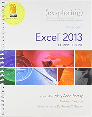 Read online Exploring: Microsoft Excel 2013, Comprehensive  &  NEW myitlab -- Access Card -- for Exploring Microsoft Office 2013 (Replacement Card) Package PDF, azw (Kindle), ePub