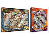 Pokemon Trading Card Game Mega Powers Collection Box and Ultra Beasts Buzzwole GX Premium Collection Box Bundle, 1 of Each
