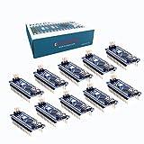 KOOKYE 10 PCS Mini USB Arduino Nano V3.0 ATmega328P Module CH340G 5V 16M Micro-controller (Nano10)