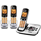 Uniden DECT 6.0 Cordless Phones with Caller ID and Digital Answering System - 3 Handset Pack