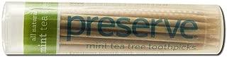 product image for PRESERVE TOOTHPICKS,MINT TEA TREE, 35 CT