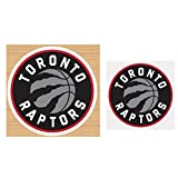 WinCraft NBA Toronto Raptors Magnet Gift Set 1 Die Cut Magnet 4 inch Round and 1 Small Decal