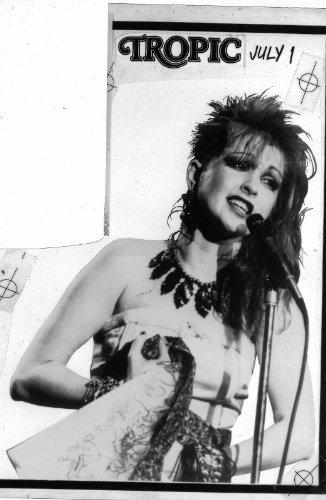 Cyndi Lauper Original 5x7 Photo L9261